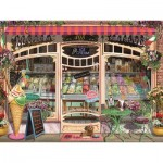 Puzzle  Ravensburger-16221 Ice Cream Shop