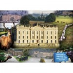 Puzzle  Ravensburger-19572 Chatsworth Impressions
