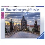 Puzzle  Ravensburger-19738 Prague