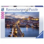 Puzzle  Ravensburger-19740 Prague by Night