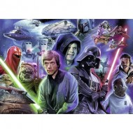 Puzzle  Ravensburger-19774 Star Wars Collection 3