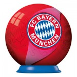 Ravensburger-72738-11857 Puzzle Ball 54 pièces - Football Club Bayern de Munich