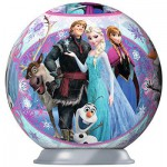 Ravensburger-79467-11913-04 Puzzle Ball - La Reine des Neiges
