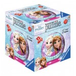 Ravensburger-79467-11913-06 Puzzle Ball 3D - La Reine des Neiges
