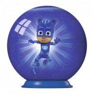 Ravensburger-79958-11924-01 Puzzle Ball 3D - PJ Masks