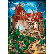 Puzzle  DToys-61218-CC08 Cartoon Collection - Vampire party