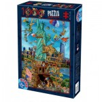 Puzzle  Dtoys-61218-CC13-(74706) Cartoon Collection - New York