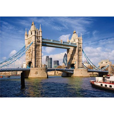Puzzle DToys-64288-FP08-(70609) Royaume-Uni - Londres : Tower Bridge