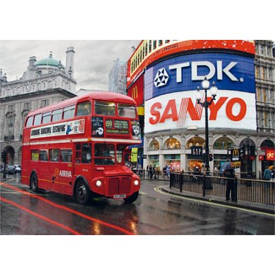 Puzzle Dtoys-64301 Paysages nocturnes - Londres, Piccadilly Circus