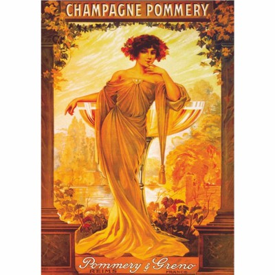 Puzzle Dtoys-69474 Poster vintage - Champagne Pommery et Greno