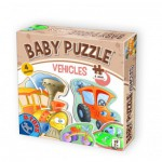 Dtoys-71279-BP01 4 Puzzles - Véhicules