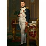 Puzzle  Dtoys-72719-DA02 Jacques-Louis David: Napoléon dans son Cabinet de Travail, 1812
