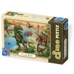 Puzzle  Dtoys-73037-DP-02 Dinosaures