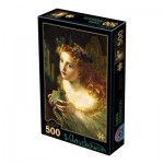 Puzzle  Dtoys-73853-AP03 Sophie Anderson - Take the Fair Face of Woman