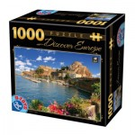 Puzzle  Dtoys-74881 Discover Europe - Côme, Italie