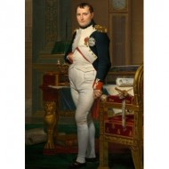 Puzzle  Dtoys-75000 Jacques-Louis David: Napoléon dans son Cabinet de Travail, 1812