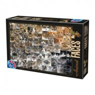 Puzzle  Dtoys-75260 Collage - Chats