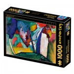 Puzzle  Dtoys-77738 Kandinsky Vassily - The Waterfall
