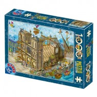 Puzzle  Dtoys-77752 Cartoon Collection - Notre Dame