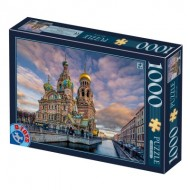 Puzzle  Dtoys-77776 Church of the Savior on Blood - Saint Petersbourg