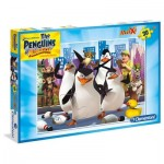Puzzle  Clementoni-07430 Pièces XXL - The Pinguins of Madagascar