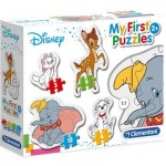 Clementoni-20806 4 Puzzles - My First Puzzles - Disney
