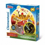Clementoni-23027 Puzzle Horloge - The Lion Guard