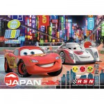 Puzzle  Clementoni-23623 Pièces XXL - Cars 2 : Tokyo by night