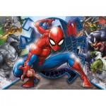 Clementoni-27116 Spiderman Supercolor Puzzle