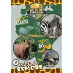 Puzzle  Clementoni-29207 National Geo Kids - Wildlife Expedition