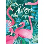 Puzzle  Clementoni-35067 Fantastic Animals - Flamingos
