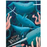 Puzzle  Clementoni-35099 Fantastic Animals - Narwhal