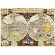 Puzzle  Clementoni-36526 Antique Nautical Map