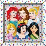 Puzzle  Clementoni-38805 Frame Me Up - Disney Princess