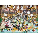 Puzzle  Clementoni-39472 Mickey - 90 Years of Magic