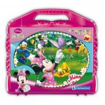 Clementoni-42416 Puzzle Cubes - Minnie Club House
