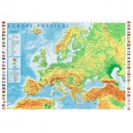 Puzzle  Trefl-10605 Europe Physical Map