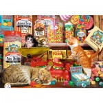 Puzzle  Trefl-10630 Cute Cats