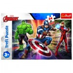 Puzzle  Trefl-14321 Pièces XXL - Disney Marvel The Avengers
