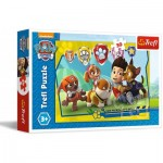 Puzzle  Trefl-18239 Paws Patrol - Let's Roll