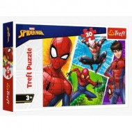 Puzzle  Trefl-18242 Spider-Man and Miguel