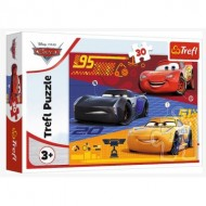 Puzzle  Trefl-18274 Cars Before the Race