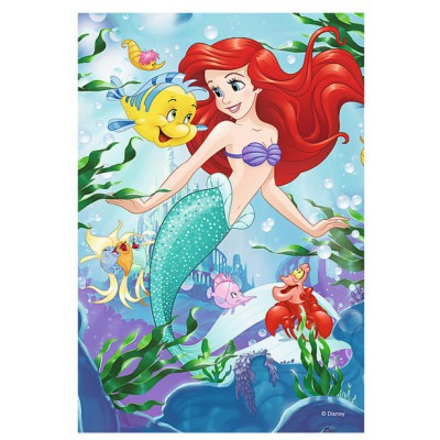 Trefl-19537 Mini Puzzle - Disney Princesses