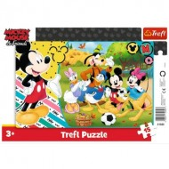 Trefl-31353 Puzzle Cadre - Mickey Mouse & Friends