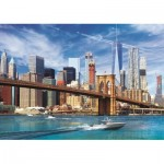 Puzzle  Trefl-37331 View of New York