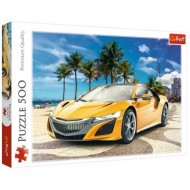 Puzzle  Trefl-37381 Summer Adventure Car