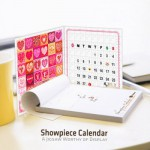 Puzzle  Pintoo-H1476 Calendrier Showpiece : Love