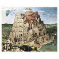 Pintoo-H1772 Puzzle en Plastique - Brueghel Pieter - Tower of Babel, 1563