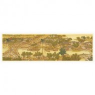 Pintoo-H1906 Puzzle en Plastique - Bears Along The River During The Qingming Festival