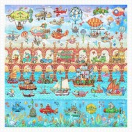 Pintoo-H1926 Puzzle en Plastique - Tom Parker - Bridge